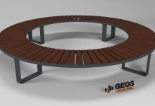 Bench Geos Exclusive Ring D2740x440 3D