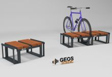 Bicycle Parking Geos Comfort Module 710x530x310 3D