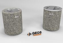 Geos Cilindro V and Geos Cilindro LV D450x550 50L 3D