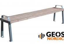 Geos City Comfort Bench without back R 2000x440x550
